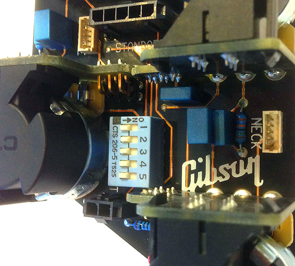 Gibson's unique transient suppression circuit