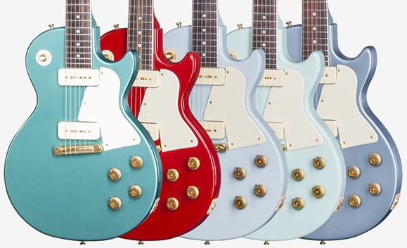 Les Pauls in Firebird Finishes