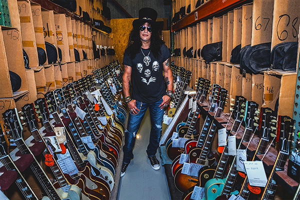 Slash - Gibson Global Brand Ambassador