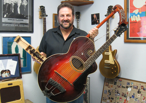 Meet The First Electric Guitar Gibson S One Of A Kind