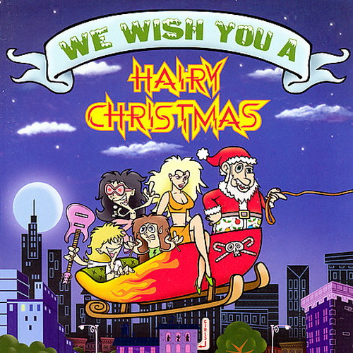 who says hair metal fans cant have a merry christmas we wish you a hairy christmas features glam rockers warrant covering the kinks father christmas - Heavy Metal Christmas