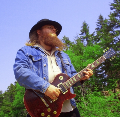 Chris Colepaugh and one of his Gibson Les Pauls
