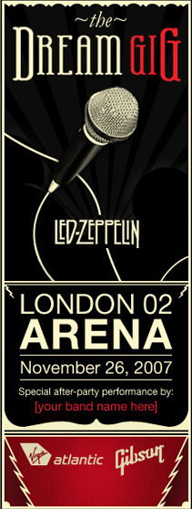 The Dream Gig: Led Zeppelin!