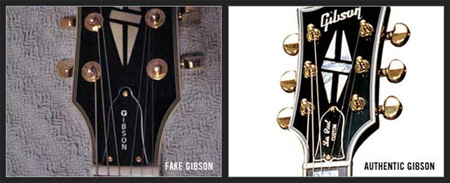 Gibson Guitar Music News: How to Spot a Fake, Gibson Leads
