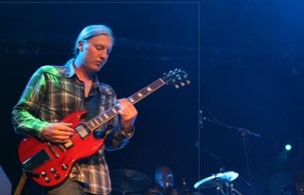 Derek Trucks with his Gibson SG