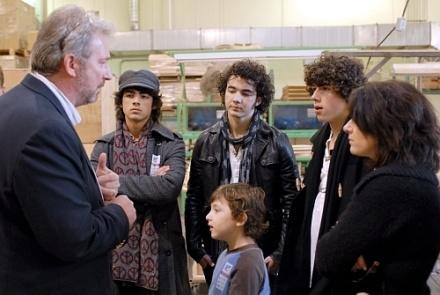 The Jonas Brothers Gibson