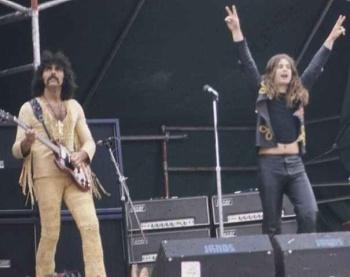 Tony Iommi and Ozzy Osbourne