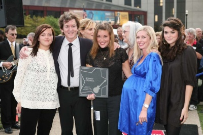 Rodney Crowell and Family