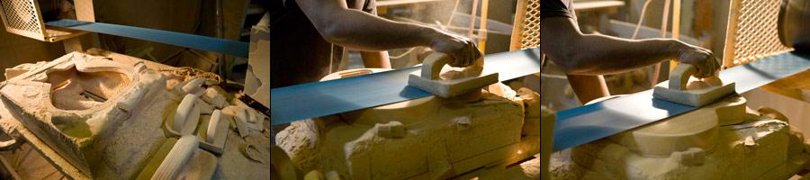 Gibson USA Body-Sanding