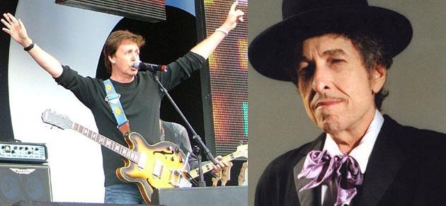 Bob Dylan & Paul McCartney … It Could Happen!