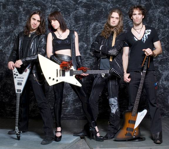 Lzzy Hale Plays up a Storm with Gibson