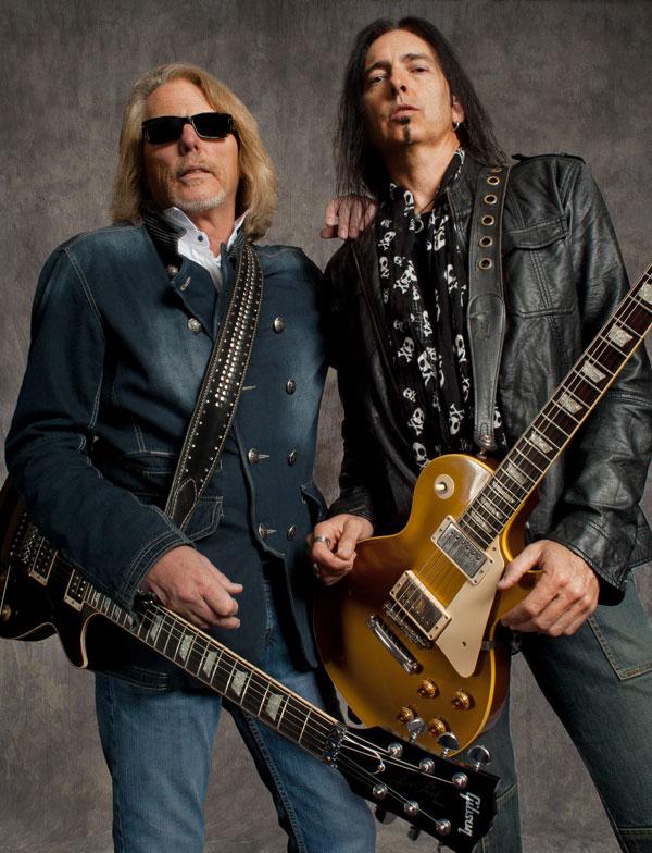 Thin Lizzy: Scott Gorham and Damon Johnson