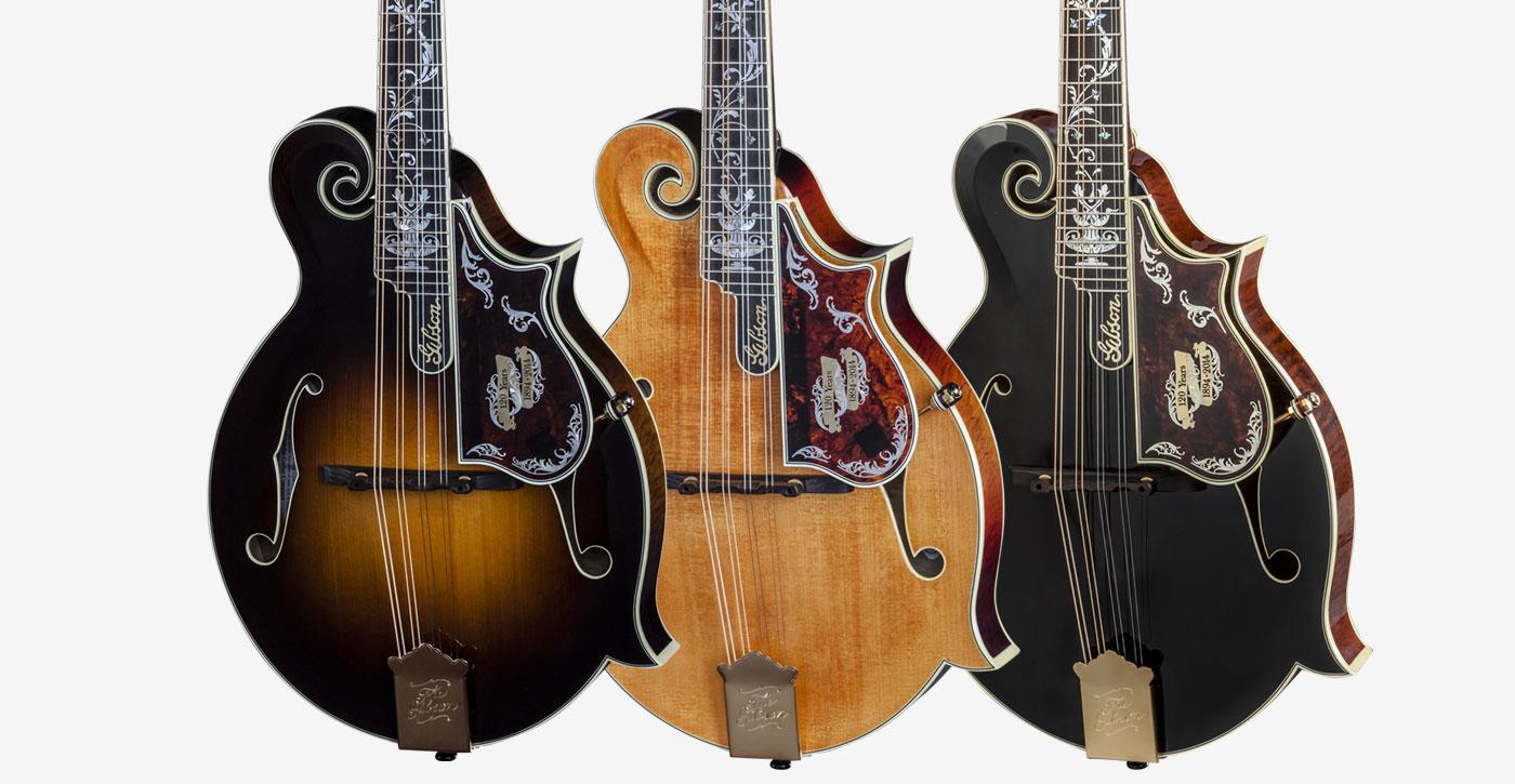 Gibson: 120th Anniversary Mandolin Set