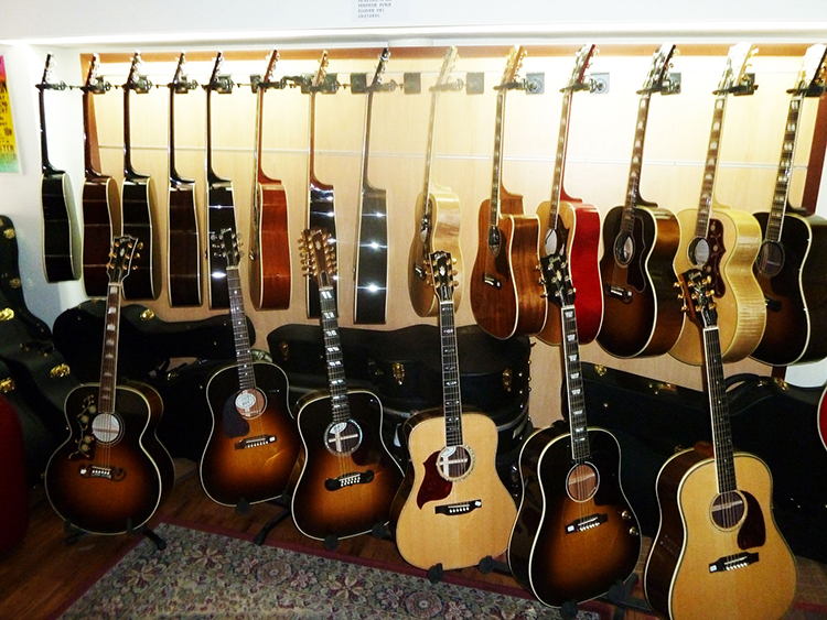 gibson guitar centrale guitars gibson acoustic five star dealer