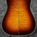 Eddie's Guitars - Gibson 5-Star Dealer - Hummingbird Custom Quilt Sunset Burst Back