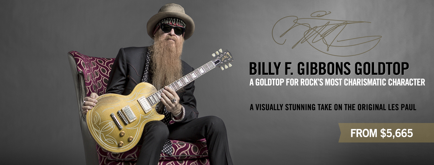 Billy F. Gibbons Goldtop