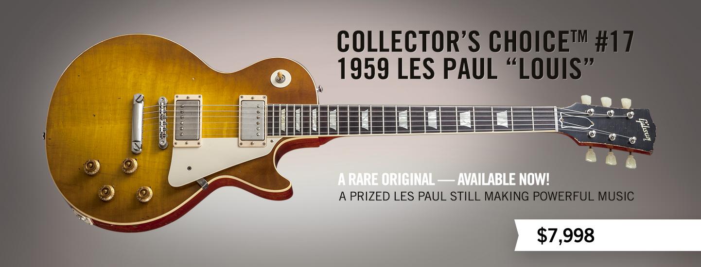 Collector's Choice 17 1959 Les Paul 'Louis'