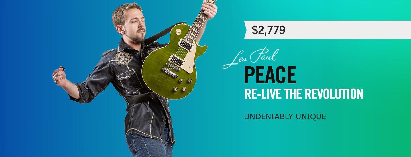 Les Paul Peace