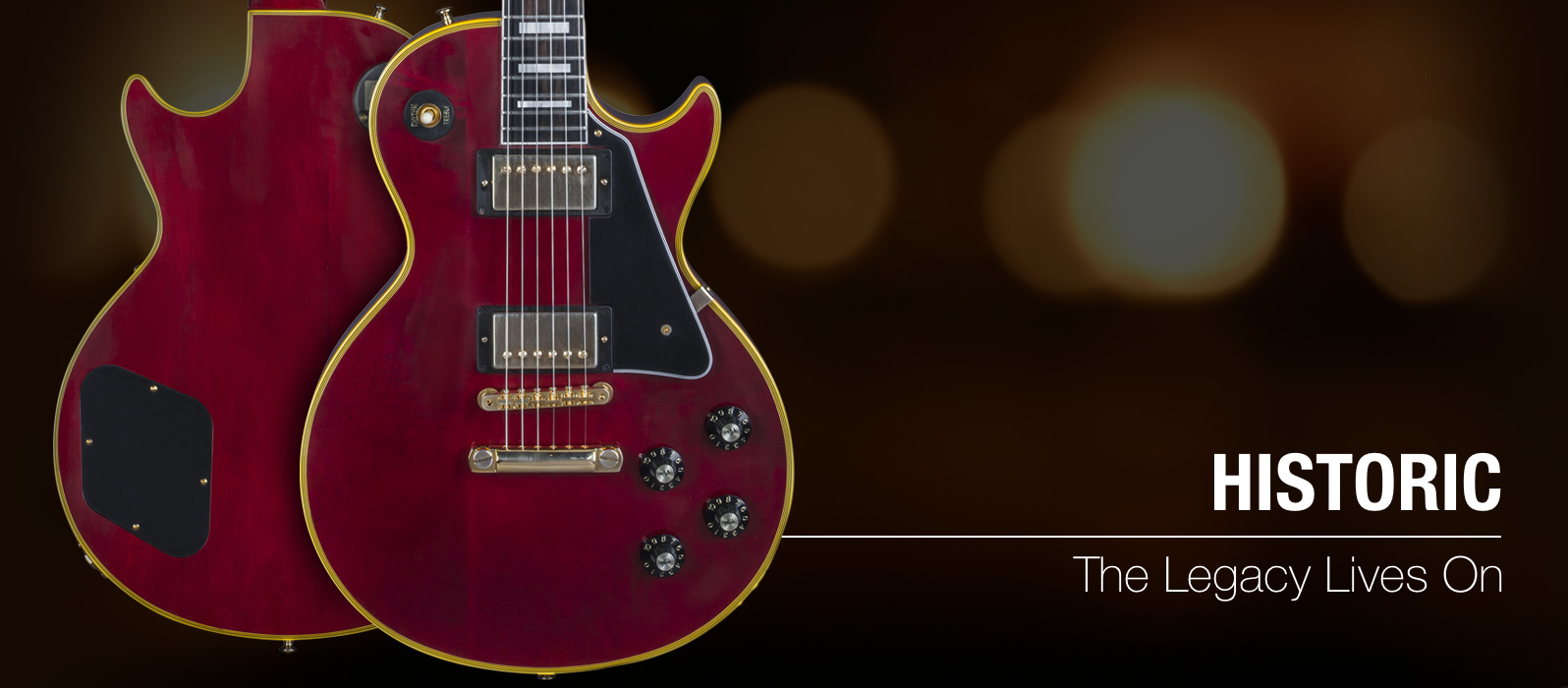 Gibson com: 1968 Les Paul Custom Reissue