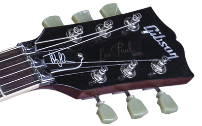 alex lifeson 40th anniversary of rush les paul axcess. Black Bedroom Furniture Sets. Home Design Ideas