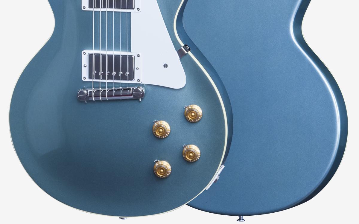 LPJBBBSAPBNH1 BODY FRONT BACK - 2015 Gibson Custom Shop Bonamassa Bonabyrd Pelham Blue Hand Signed #91
