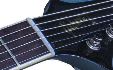 LPJBBBSAPBNH1 FRETBOARD PANEL 03 - 2015 Gibson Custom Shop Bonamassa Bonabyrd Pelham Blue Hand Signed #91