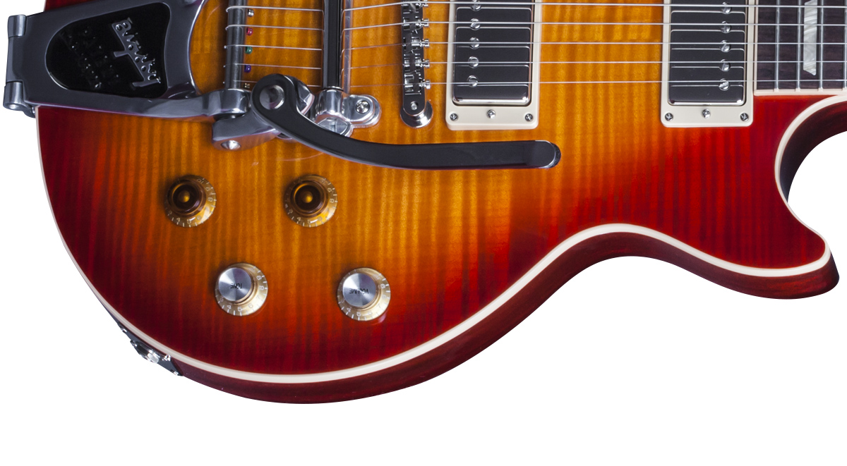 Les Paul Joe Bonamassa Tomato Soup Burst Signature Limited Edition Gibson Classic Toggle Switch Wiring Tuning Keys