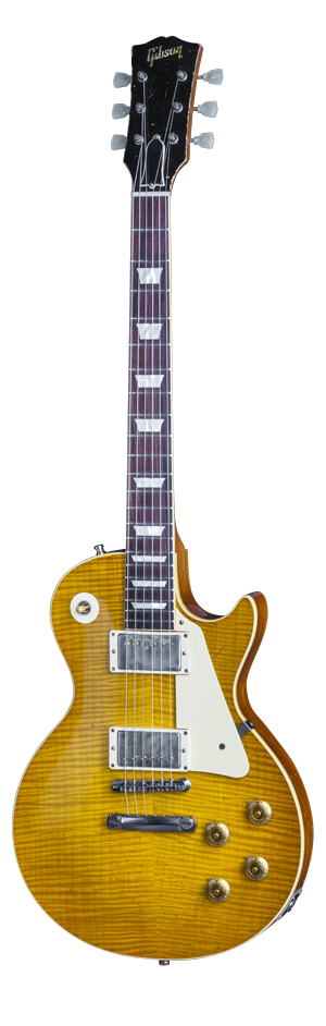 Rick Nielsen 1959 Les Paul Aged and Signed