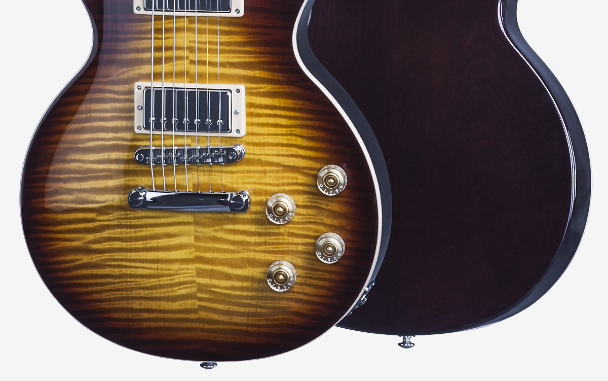 Les Paul Standard 7 String Limited Electric Guitar Parts Diagram Finger Numbering And Etc Body