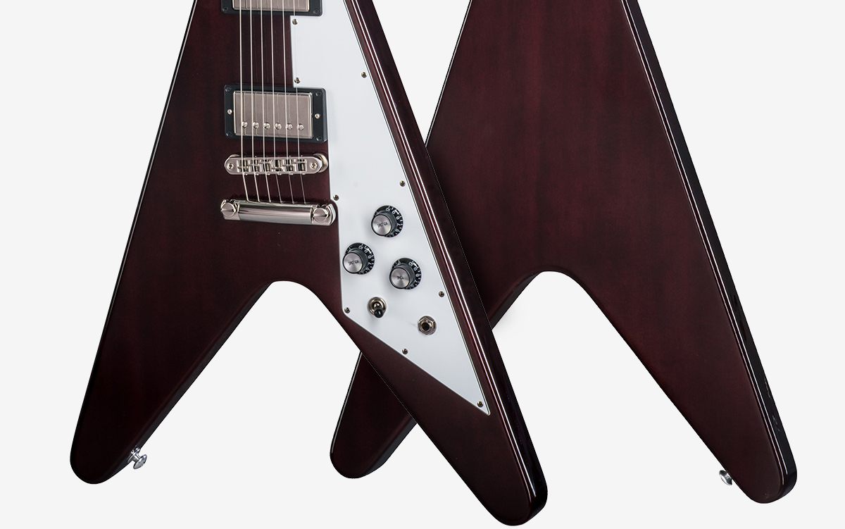 Flying V 2018 Gibson Burstbucker 2 Wiring Schematic Wood Species Mahogany Finish Gloss Nitrocellulose Lacquer