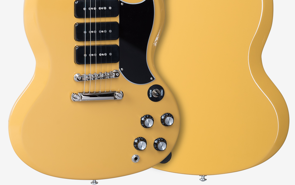 Gary Clark Jr Signature Sg Epiphone Les Paul Guitar Wiring Diagram 2010 By Gibson Wood Species Mahogany Finish Gloss Nitrocellulose Lacquer