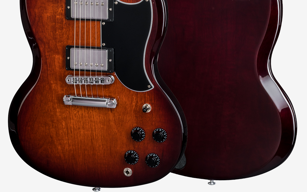 Sg Standard 2018 Gibson Bfg Wiring Diagram Wood Species Mahogany Finish Gloss Nitrocellulose Lacquer