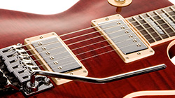 Features Pickups - Gibson Custom Shop Alex Lifeson Signature Axcess Les Paul Viceroy Brown