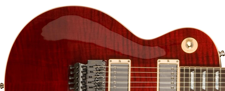 Gibson Guitar: Gibson Custom Alex Lifeson Les Paul Axcess. Wiring Diagram  ...