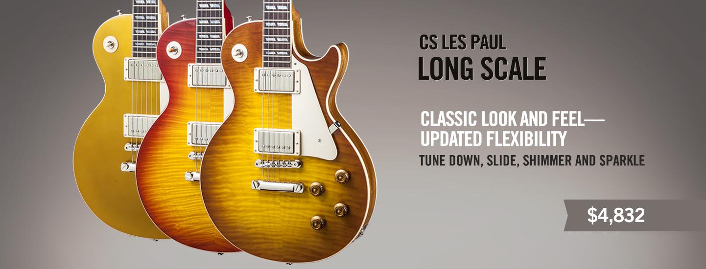 CS Les Paul Long Scale