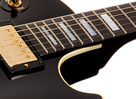 gibson rock and roll hall of fame les paul. Black Bedroom Furniture Sets. Home Design Ideas