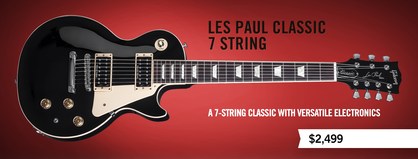 les paul classic 7 string. Black Bedroom Furniture Sets. Home Design Ideas