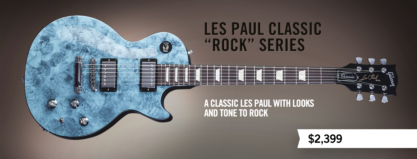 "Les Paul Classic ""Rock"" Series"