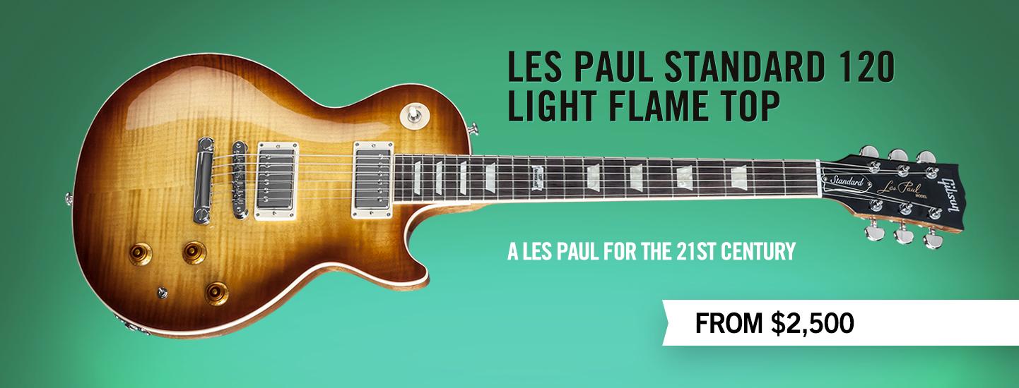 Gibson.com: Les Paul Standard Light Flame Top