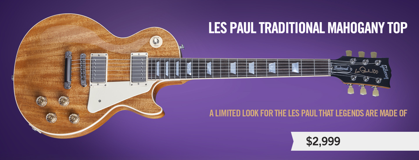 Les Paul Traditional Mahogany Top