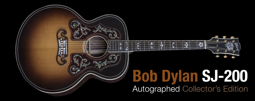 Bob Dylan SJ-200 Autographed Collector's Edition