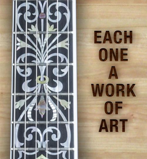 Each one a work of art