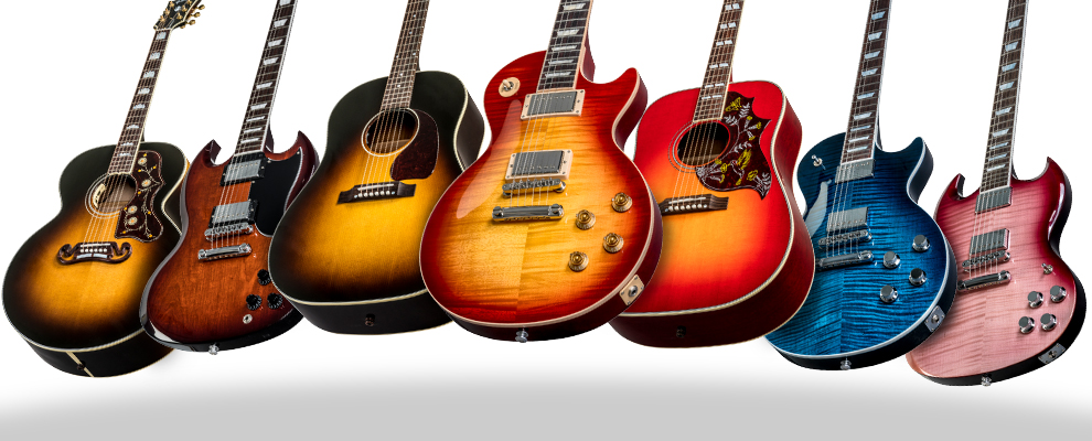 Introducing Gibson's 2018 New Model Year